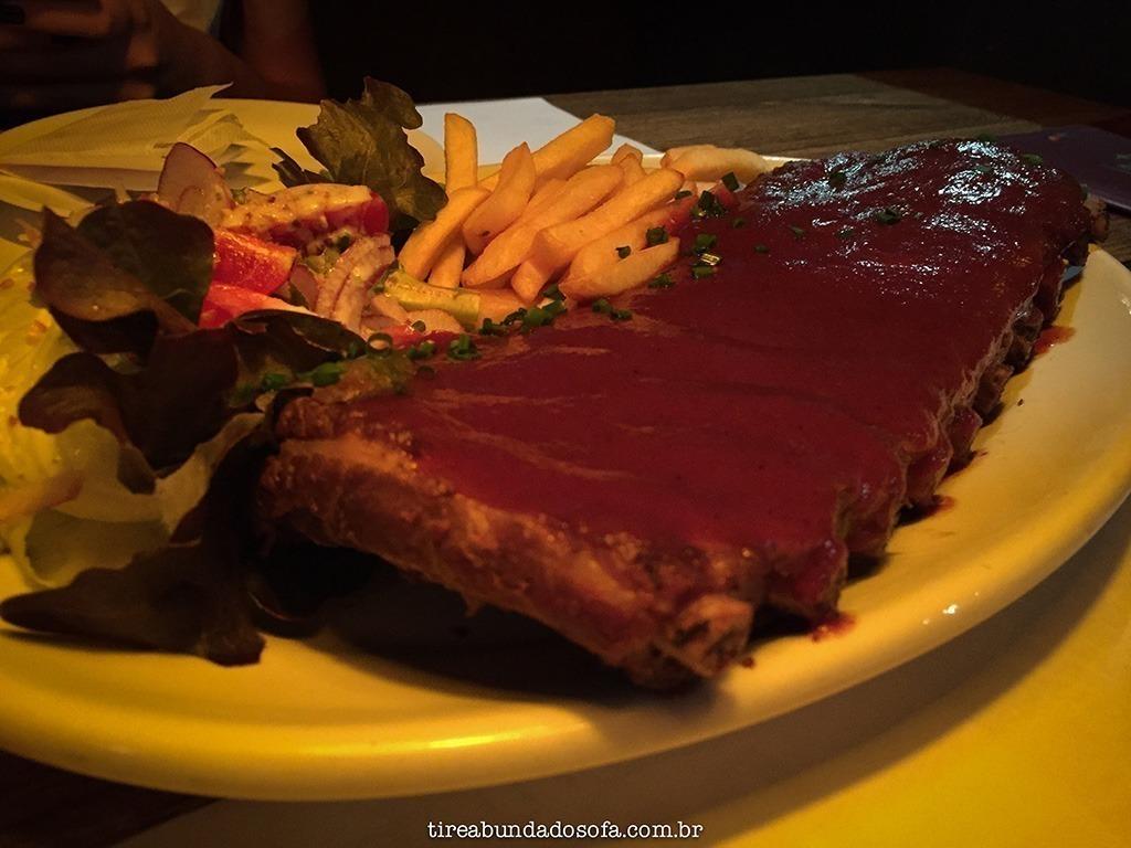 costelinha barbecue, didge joinville, comida australiana