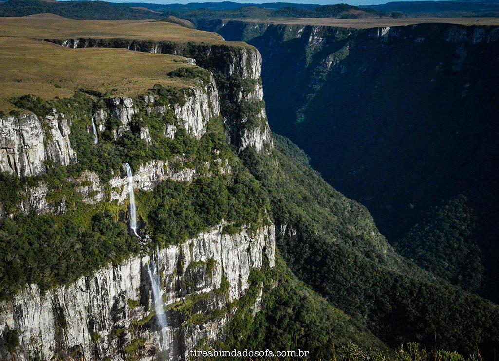 cachoeira no cânion fortaleza, parque nacional da serra geral, cambará do sul, rio grande do sul, , o que fazer em cambará do sul