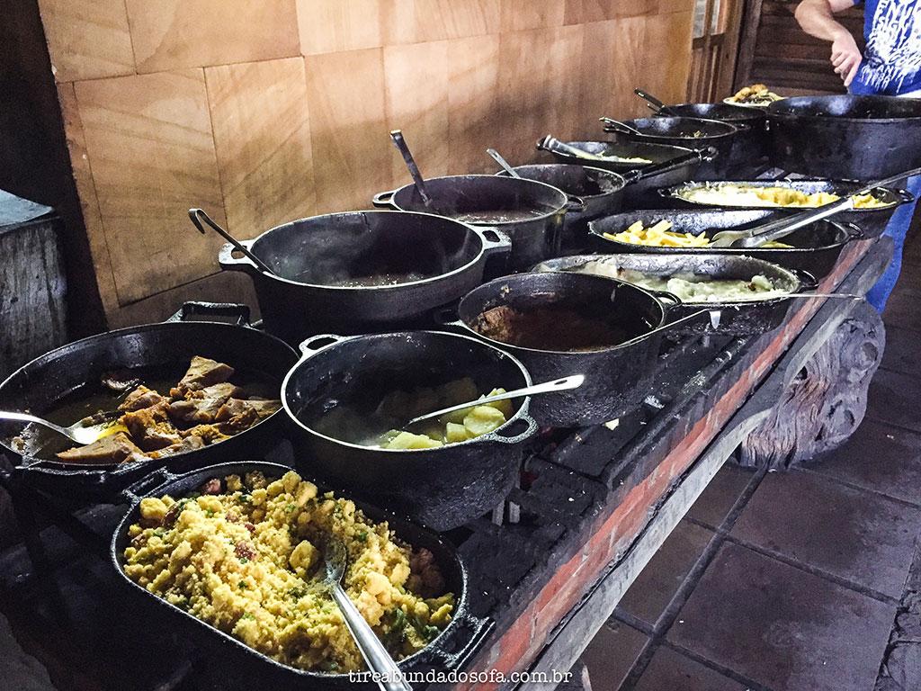galpão costaneira, comida campeira, onde comer em cambará do sul, rio grande do sul, comida gaúcha
