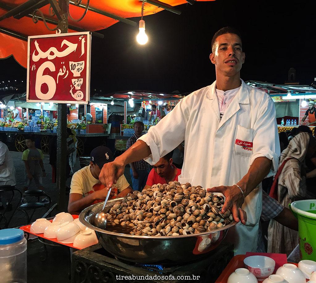 sopa de caramujo, jemaa el fna, marrakech, o que comer no marrocos, morocco, comida marroquina