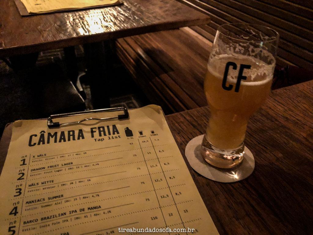 bar de cervejas artesanais câmara fria, em são paulo