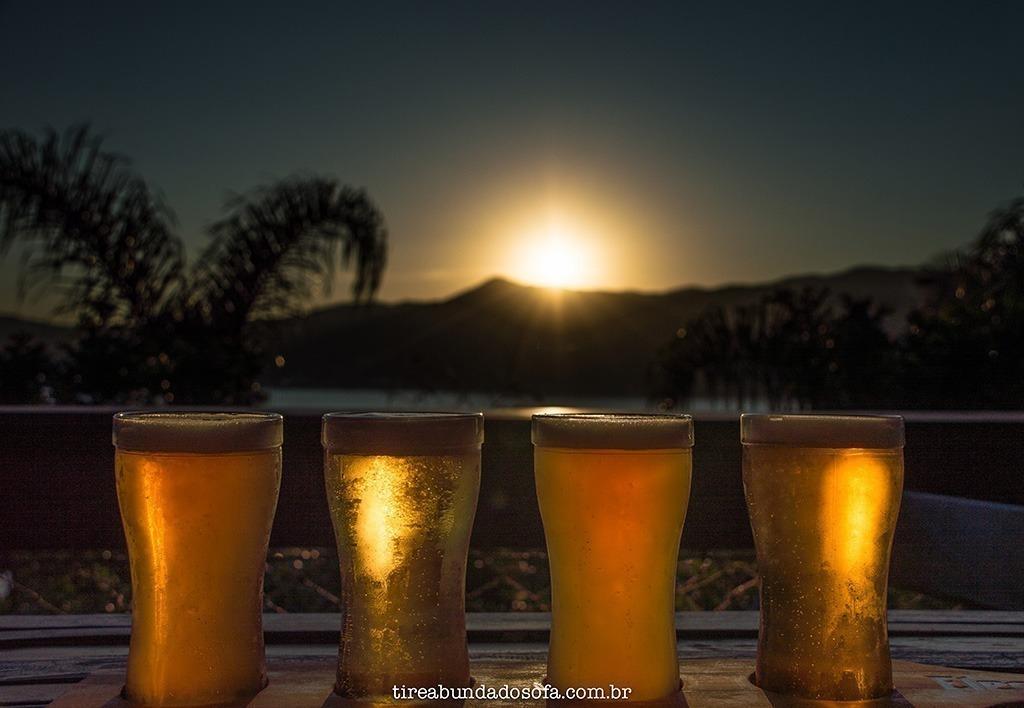 onde beber em florianópolis, elementum temple, pôr do sol com vista para a lagoa da conceição
