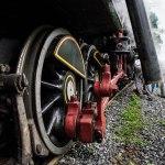 estrutura da locomotiva Mallet 204