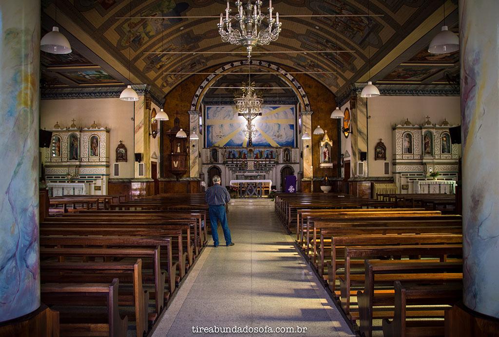 interior da igreja de são marcos, em nova veneza