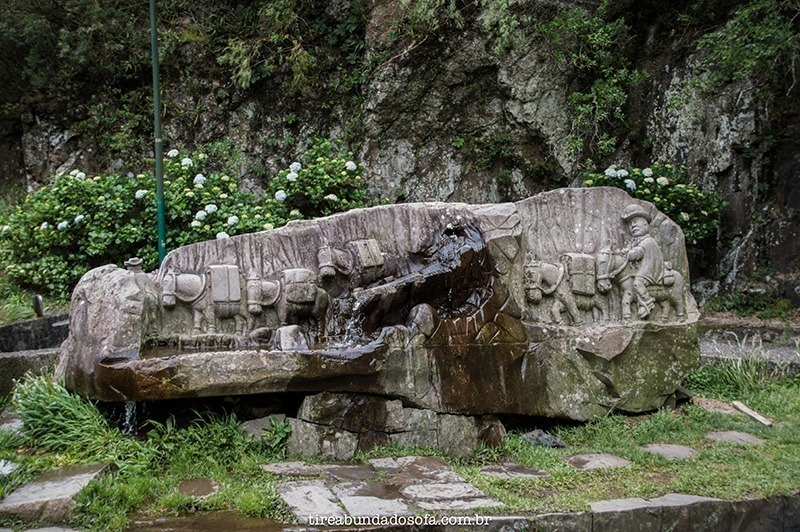 Monumento Ao Tropeiro, na Serra do Rio do Rastro