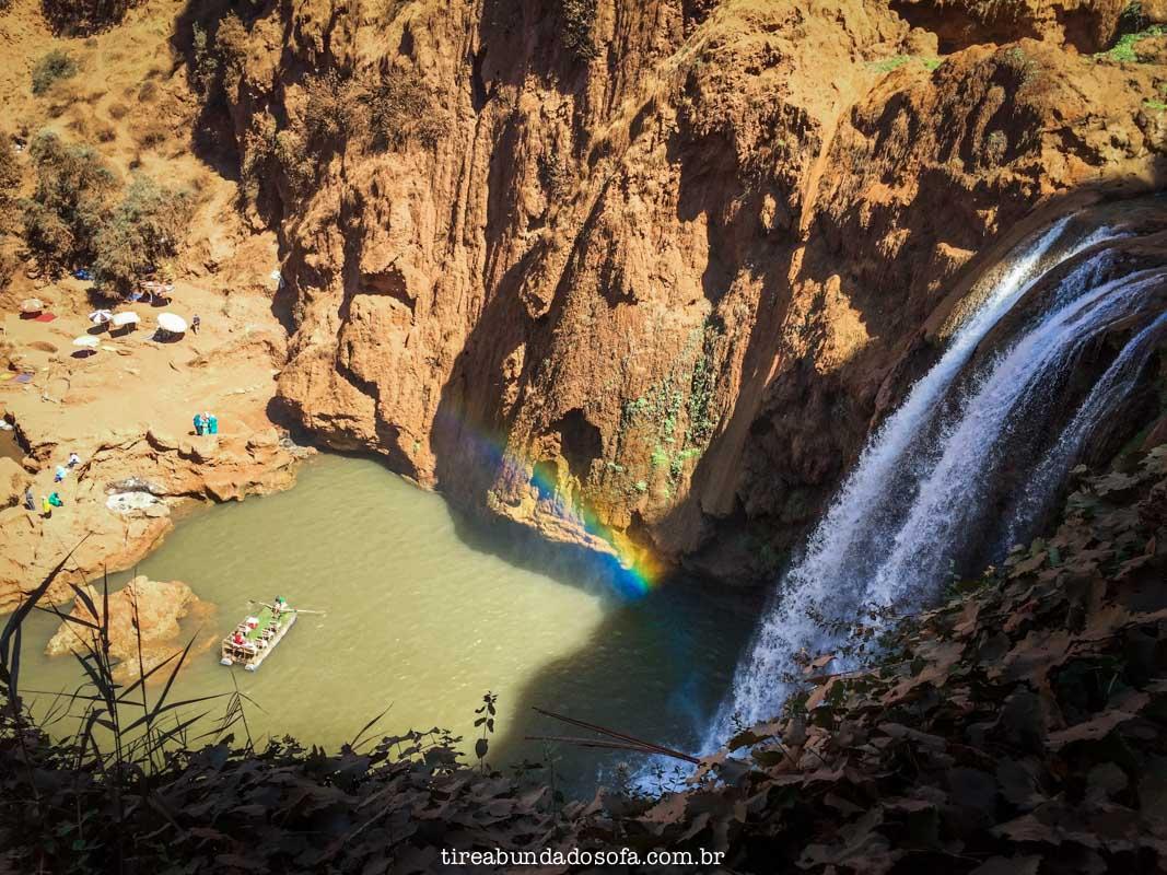 cascatas de ouzoud, no marrocos