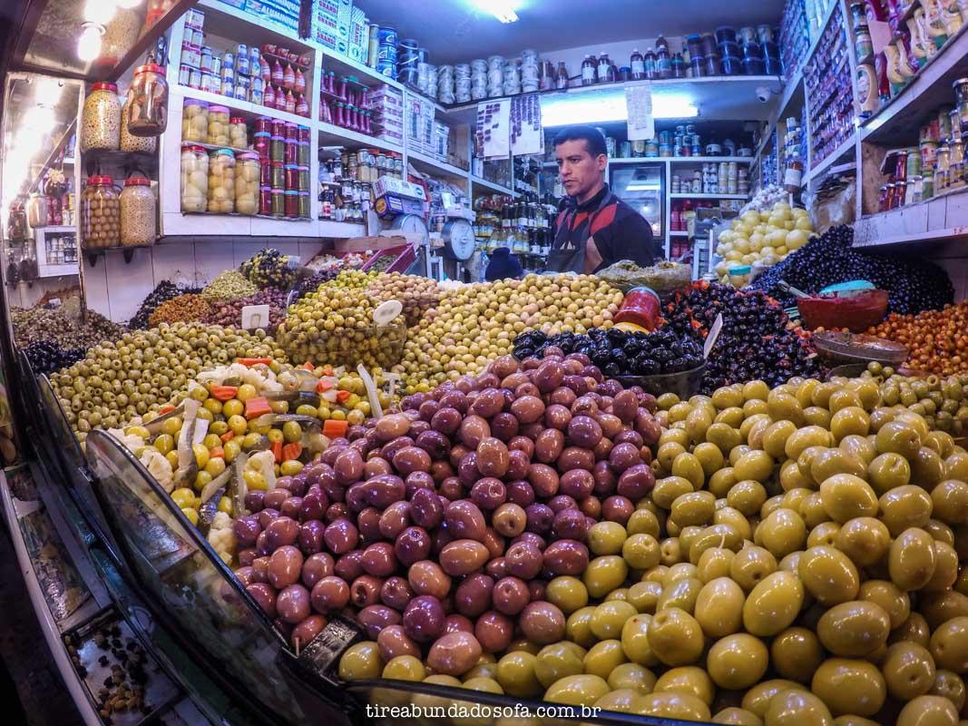 azeitonas marroquinas