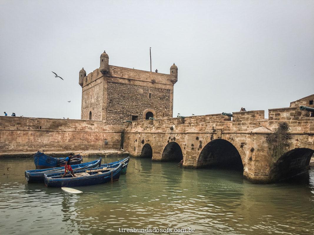 Fortaleza de Essaouira, no Marrocos