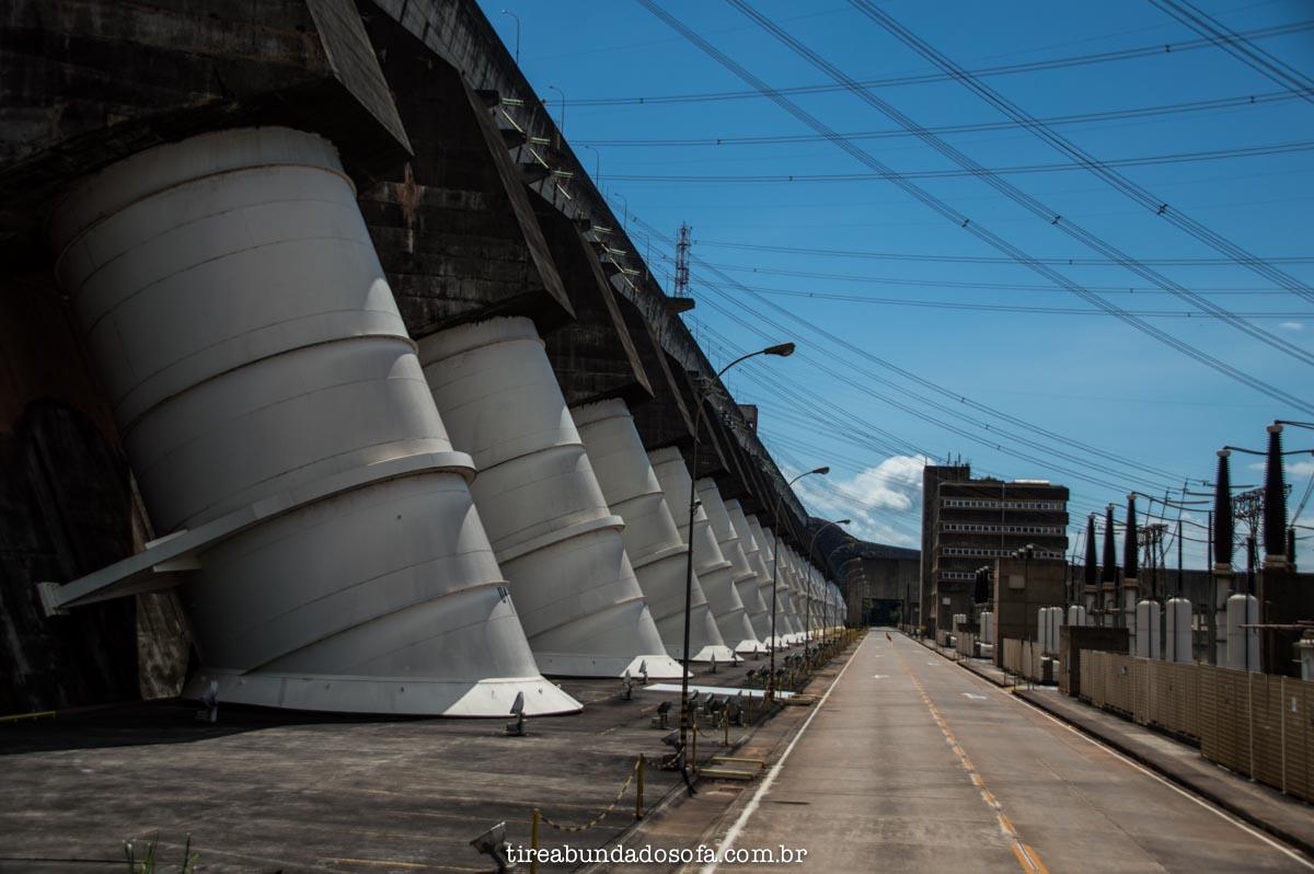 Visita Panorâmica, Usina de Itaipu