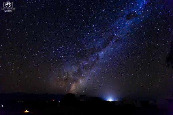 observação noturna no deserto do Atacama, Chile