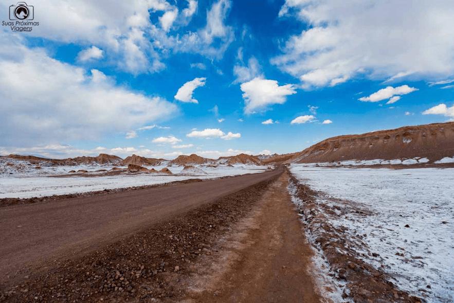 Valle de La Luna, no Atacama, Chile