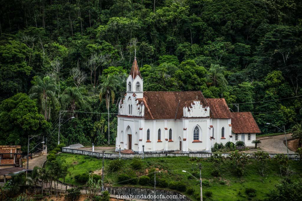 igreja principal de santa leopoldina, no espírito danto