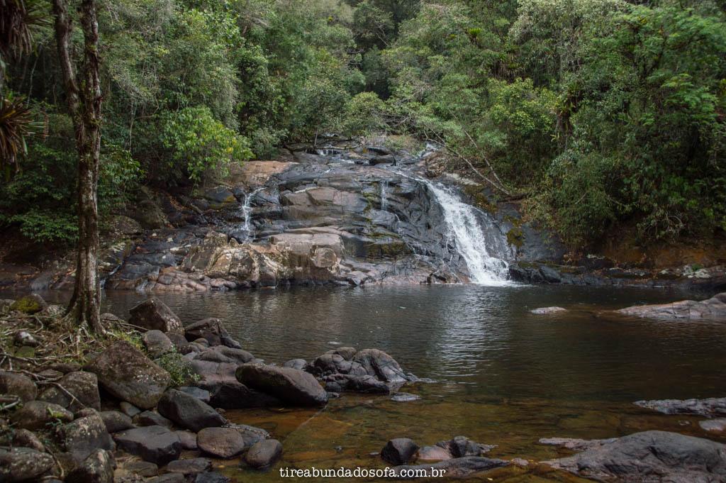Cachoeira do Pitu, em Cananéia