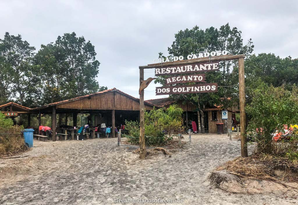 Restaurantes baratos na Ilha do Cardoso
