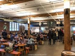 ambiente da Brooklyn Brewery