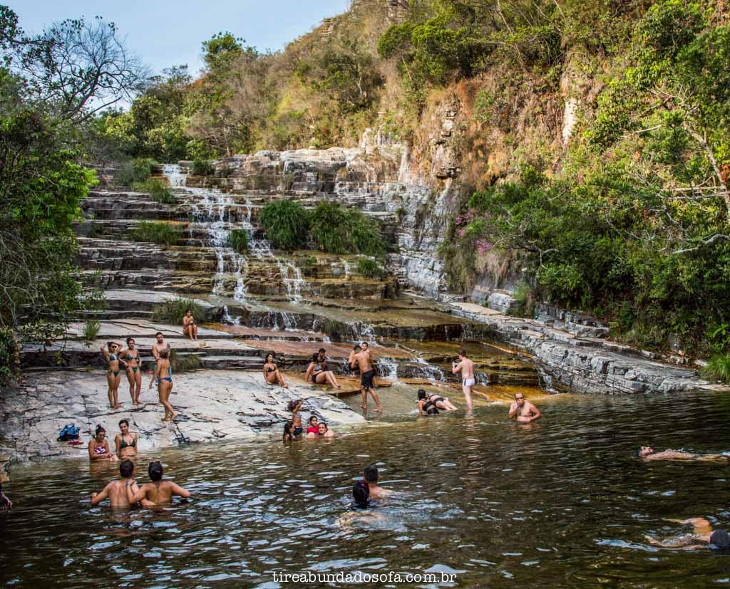 Cachoeira Dicadinha, em capitólio, minas gerais