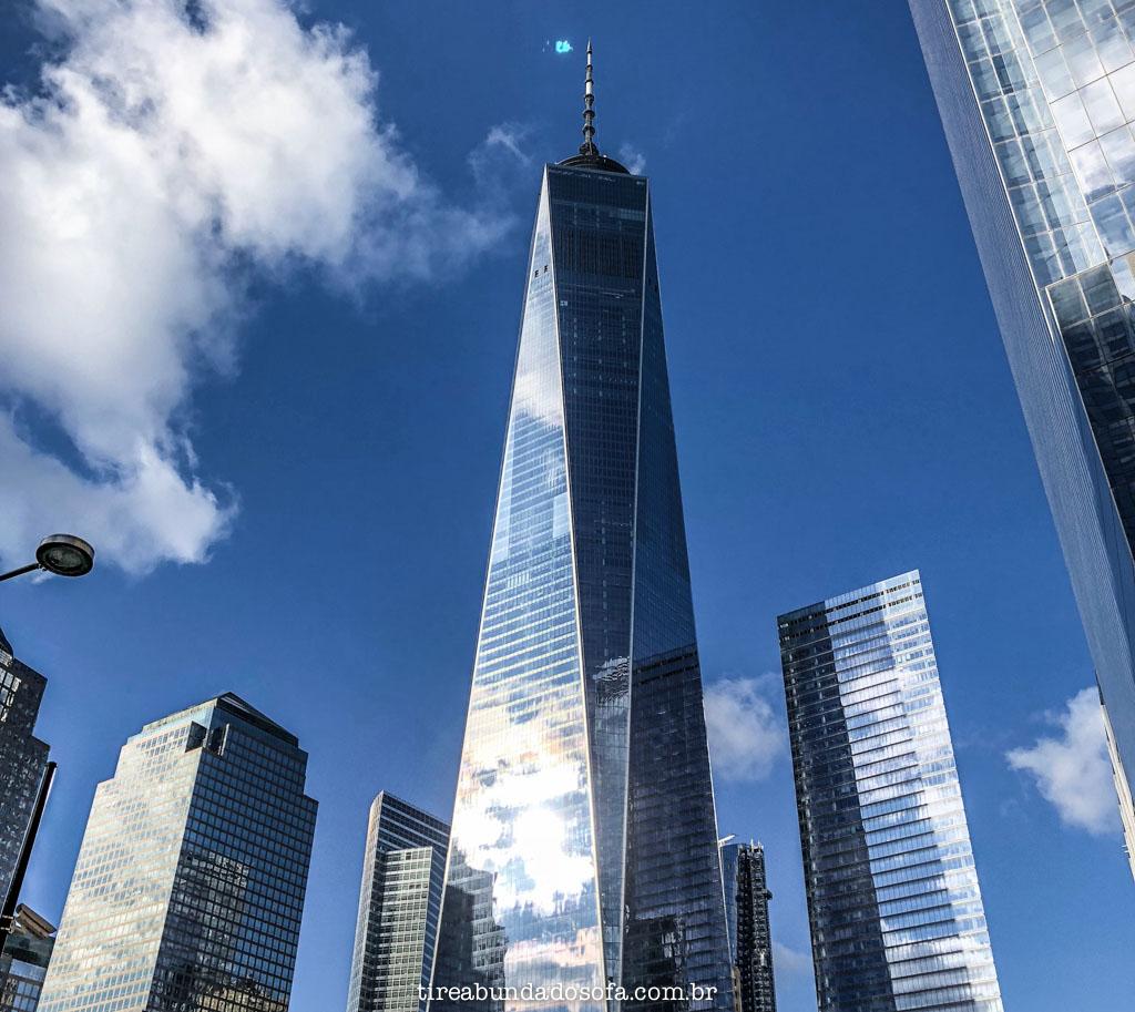 O majestoso One World Trade Center, em nova york