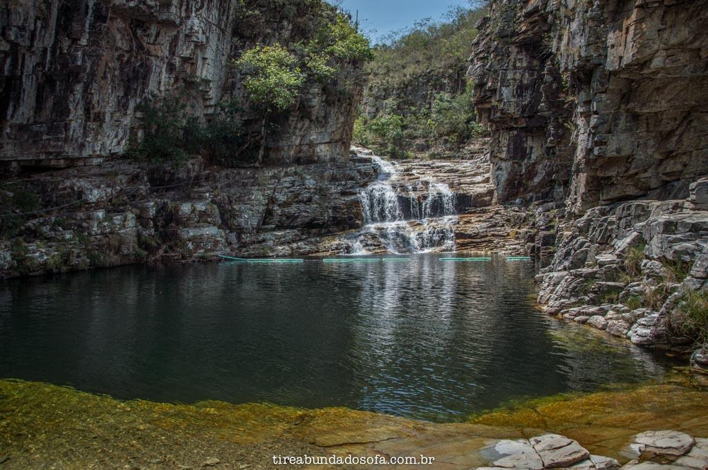 cachoeira no paraíso perdido, em capitólio, minas gerais
