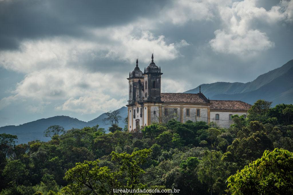 Igreja São Francisco de Paula, em Ouro Preto, Minas Gerais