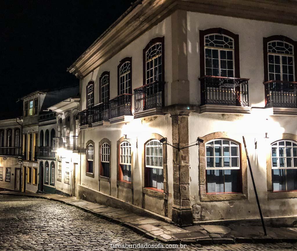 O charmoso centro histórico de Ouro Preto, em Minas Gerais