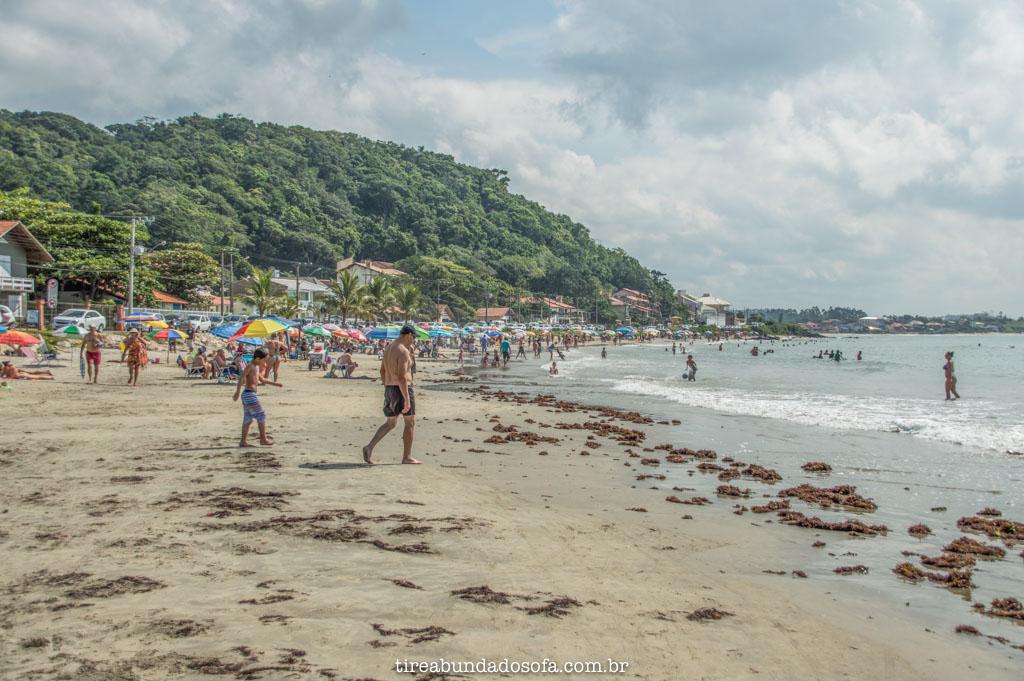 praia do grant, em barra velha, santa catarina