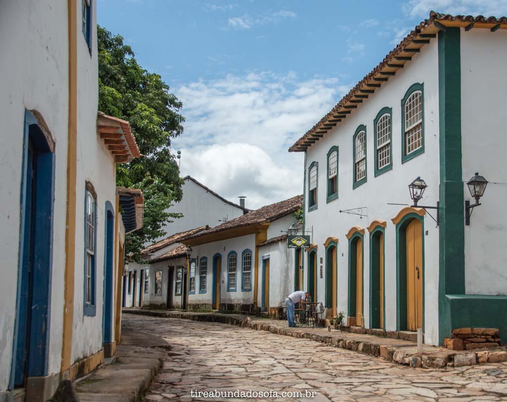 O charmoso centro histórico de Tiradentes, em Minas Gerais