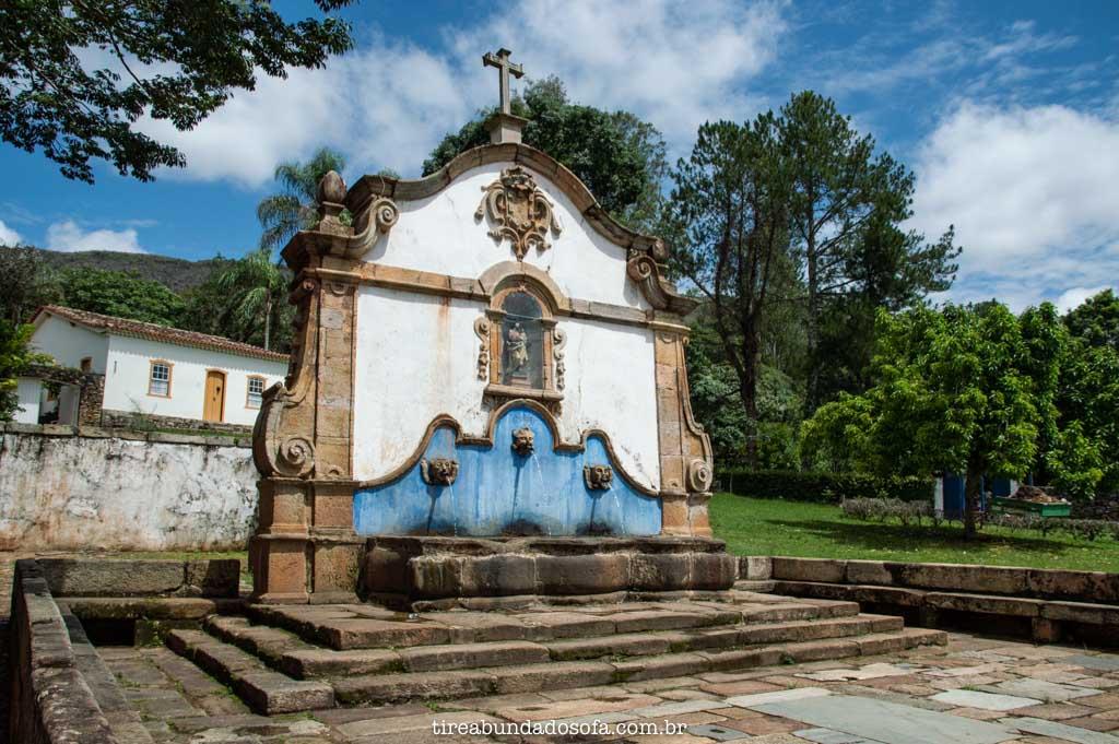 Chafariz de São José, em Tiradentes, Minas Gerais