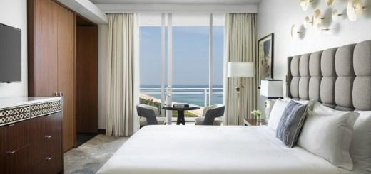 Quarto do The Ritz Carlton, hotel e resort de luxo em Key Biscayne, Miami