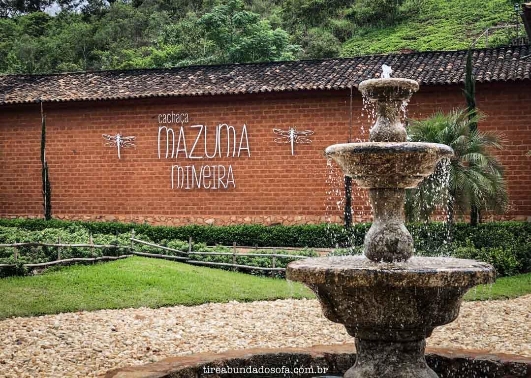 Cachaça Mazuma Mineira, em Bichinho, Minas gerais
