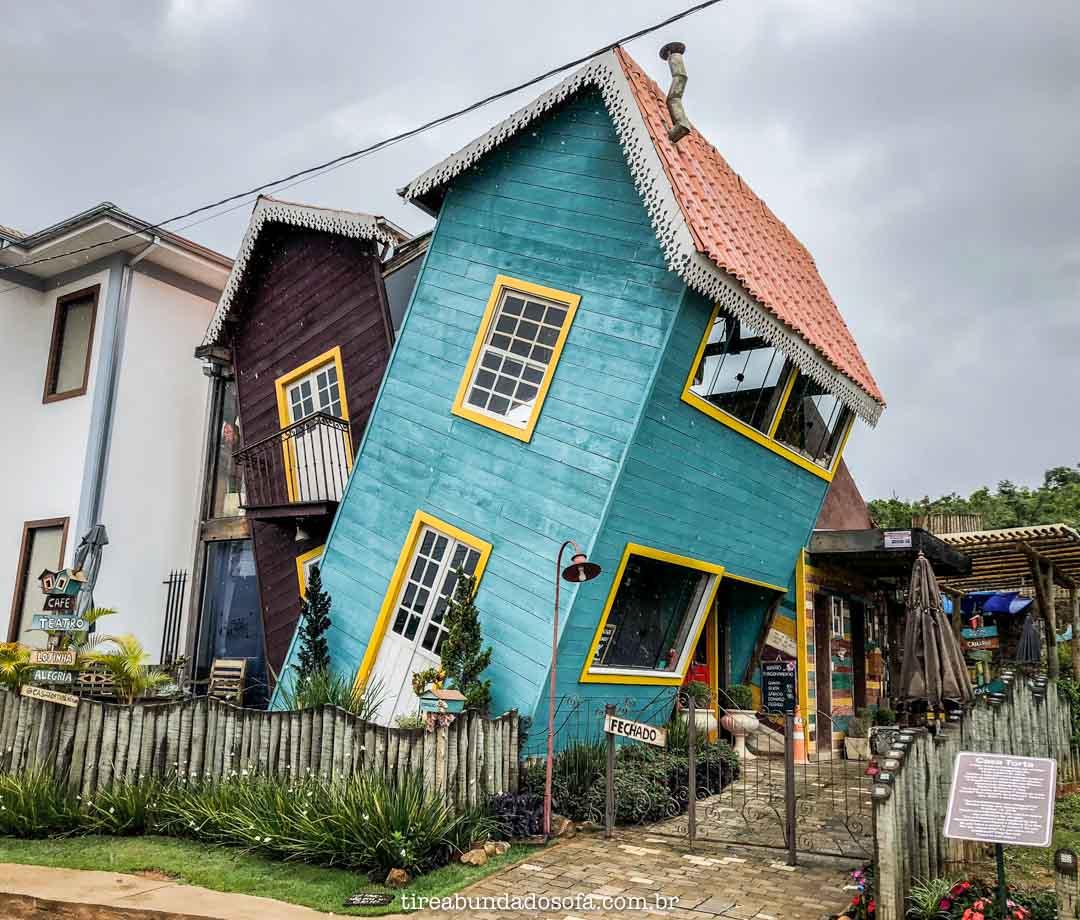 Casa Torta, em Bichinho, Minas Gerais