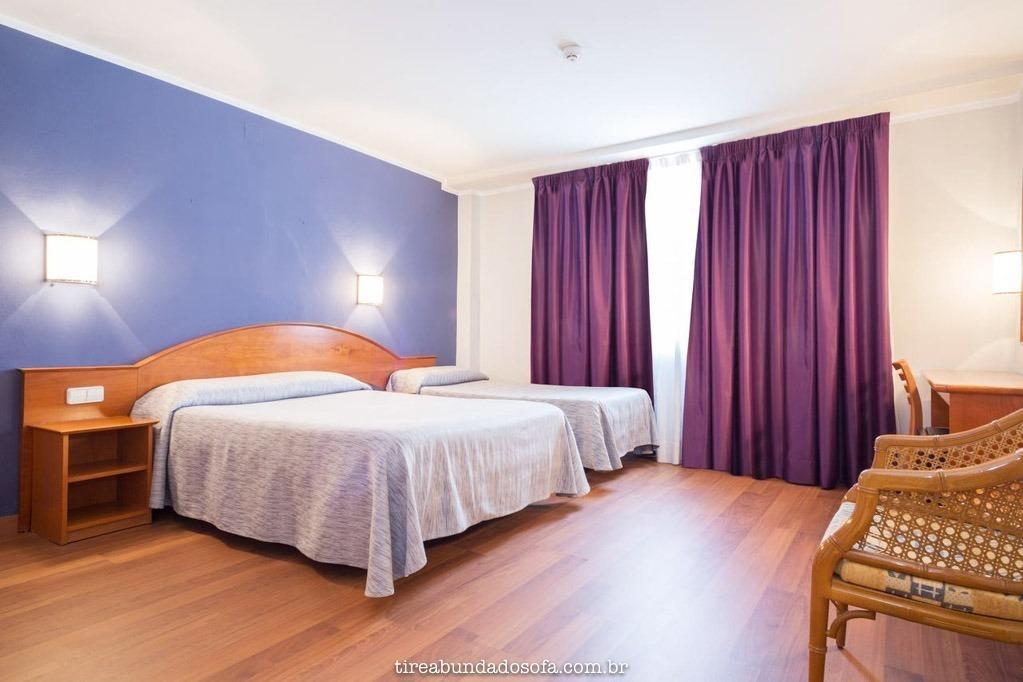 quartos do hotel cortes, em barcelona, espanha
