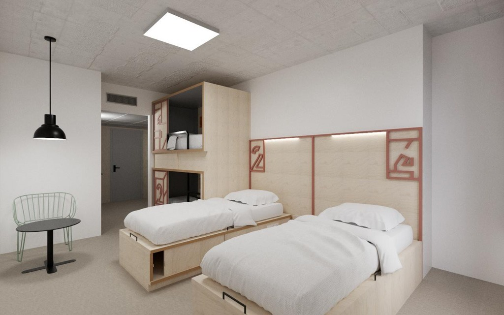Unite Hostel Barcelona, na Espanha