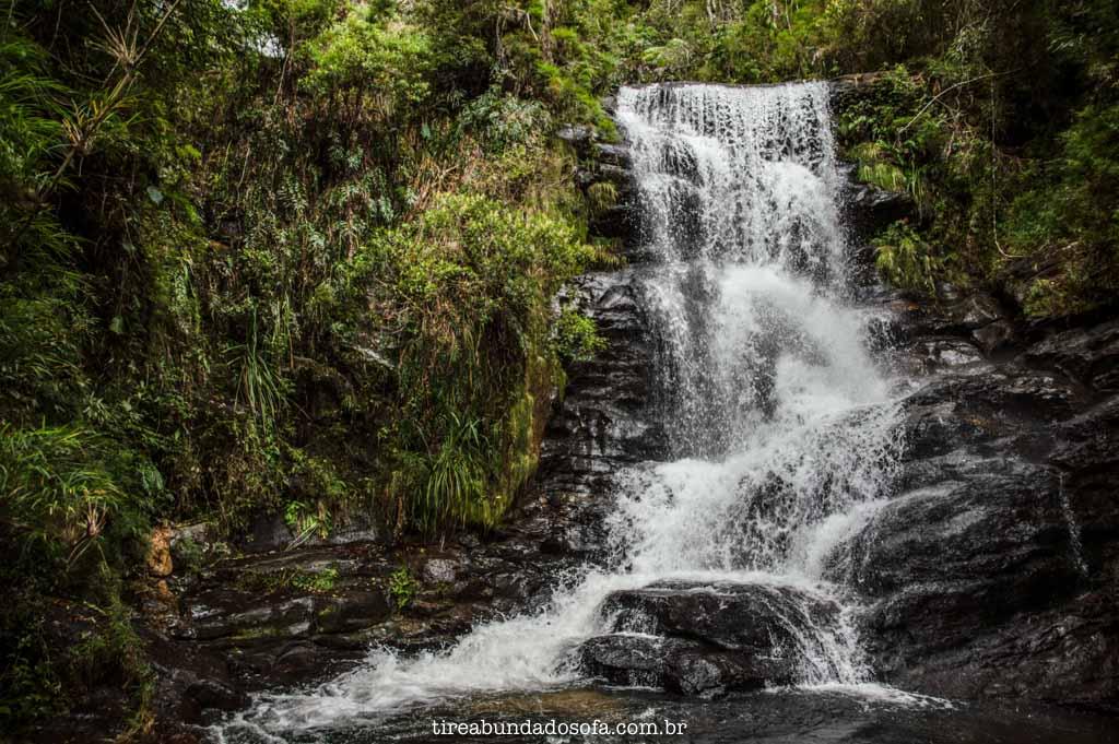 Final da trilha da Cachoeira do Fundo, em Aiuruoca, MG
