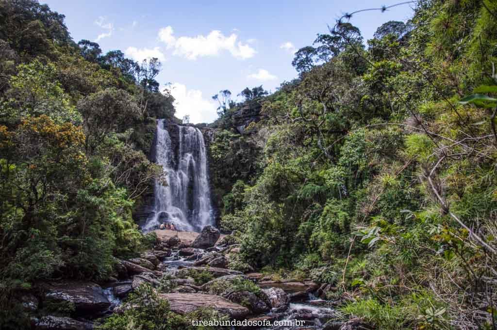 As incríveis cachoeiras de Aiuruoca, em Minas Gerais
