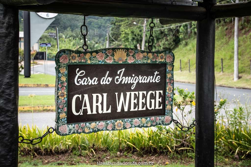 Casa do Imigrante Carl Weege, em Pomerode, SC