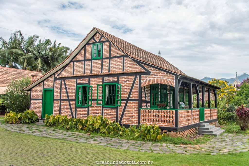 Casa do Imigrante Carl Weege, em Pomerode, Santa Catarina