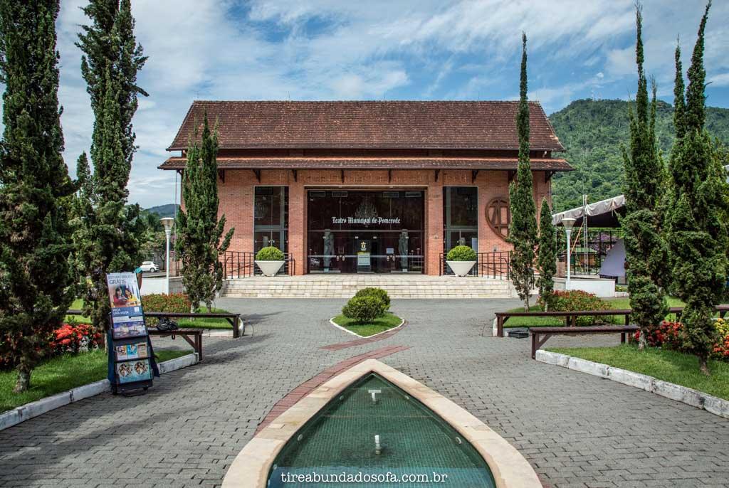 Centro Cultural de Pomerode, em SC
