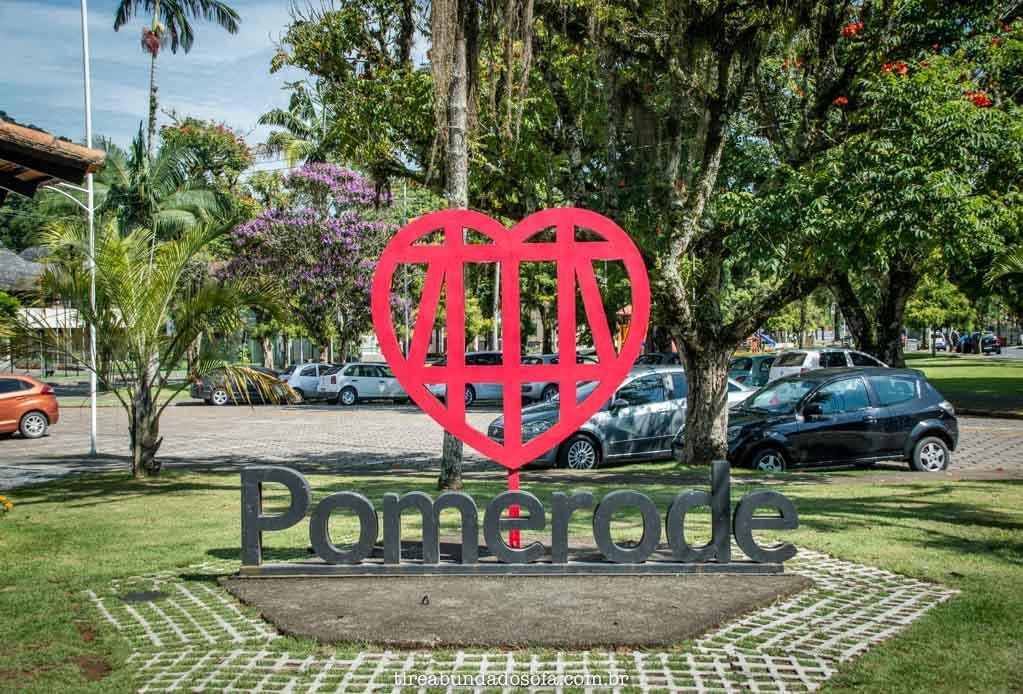 Coração Enxaimel, o símbolo de Pomerode, Santa Catarina