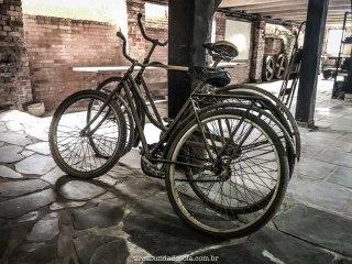 Bicicletas antigas, no Museu do Marceneiro, em Pomerode, SC