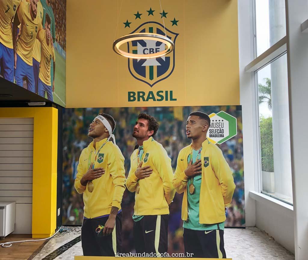 Museu do Futebol, no Rio de Janeiro