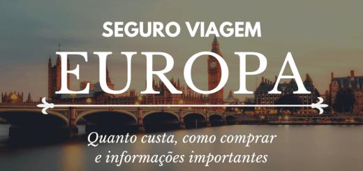 seguro viagem europa, quanto custa, como comprar e informações importantes