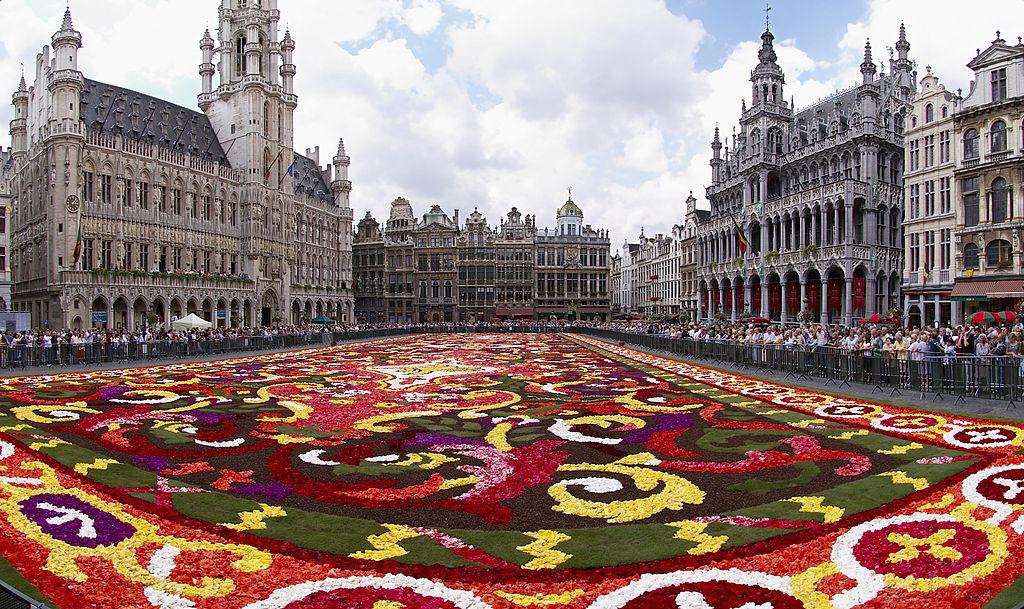 Grand Place em Bruxelas, na Bélgica