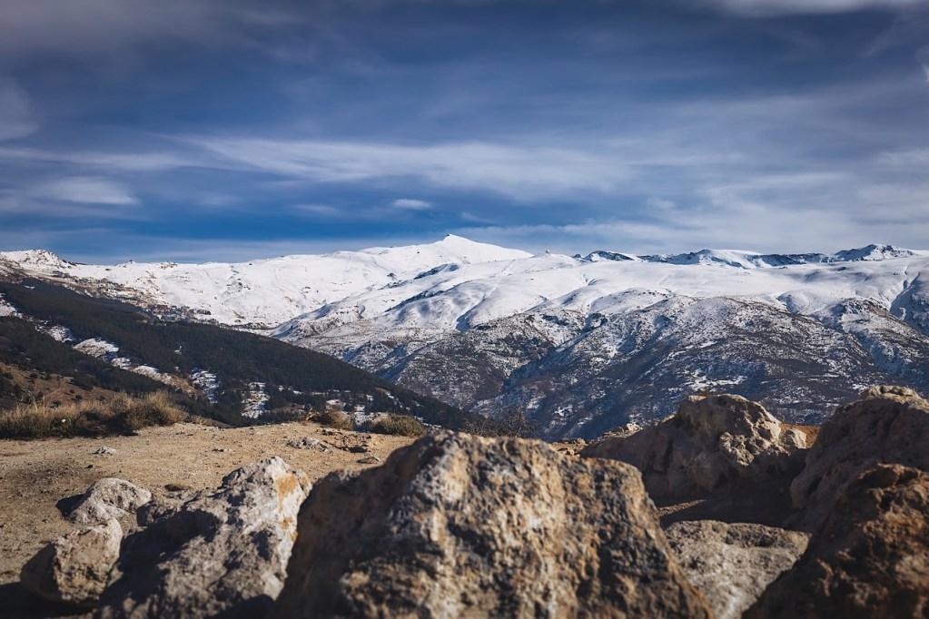 Parque Nacional de Sierra Nevada em Granada, na Espanha
