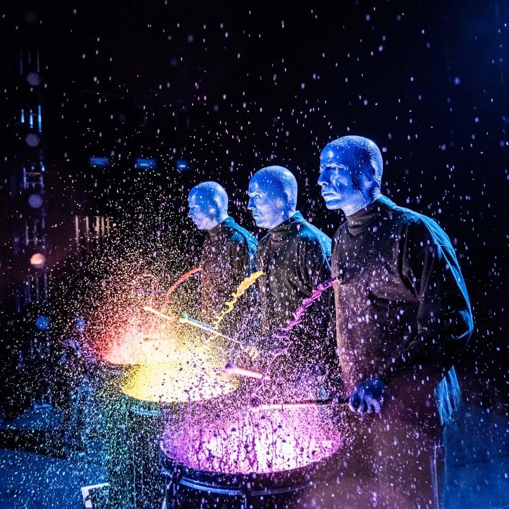 Blue man group, O mais famoso espetáculo de Chicago!