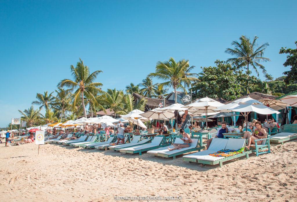 Praia do Mucugê, em arraial dajuda, bahia