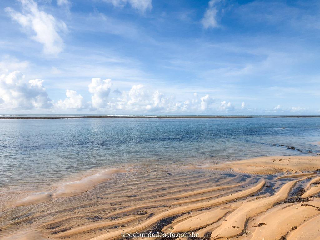 Praia dos Pescadores com maré baixa