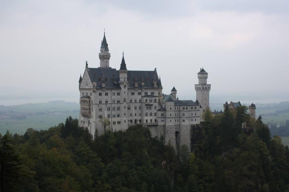 Castelo de Neuschwanstein, na Alemanha