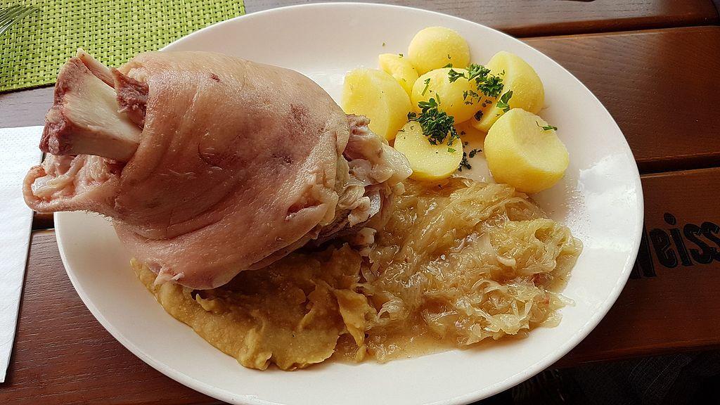 Eisben. famoso joelho de porco da Alemanha