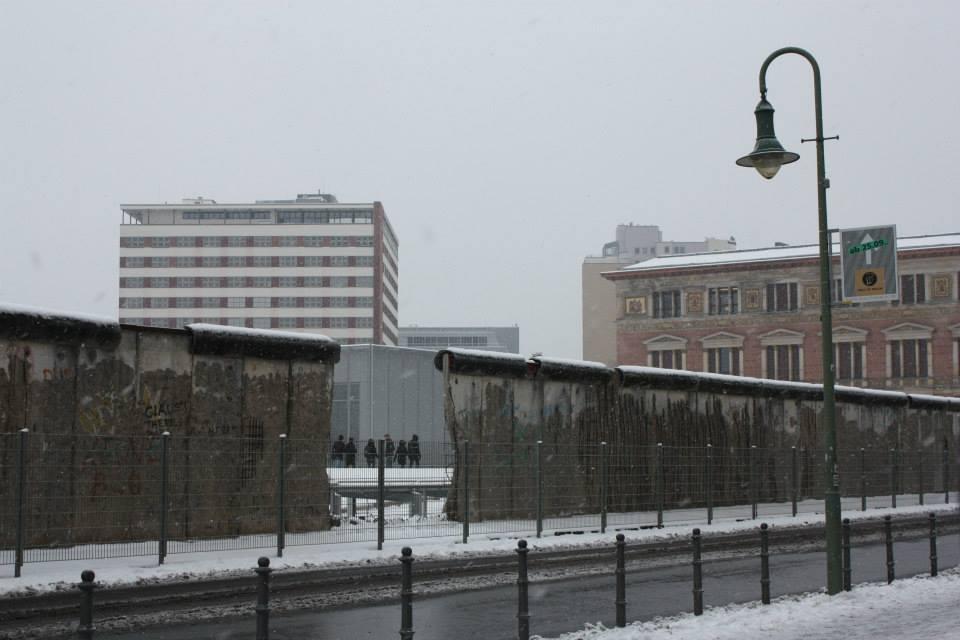 Pedaço do Muro de Berlim, na Alemanha.