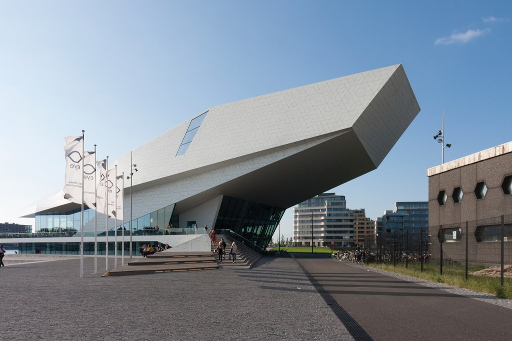 Eye Film Museum em Amsterdam, na Alemanha